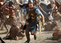 "Christian Bale en ""Exodus: Gods and Men"""