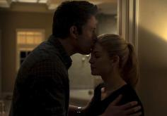 "Ben Affleck y Rosamund Pike en ""Gone Girl""."