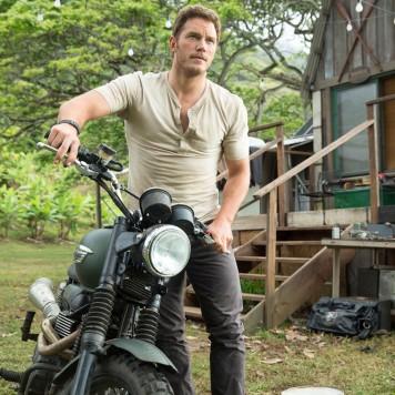 """Chris Pratt en """"Jurassic World""""."""